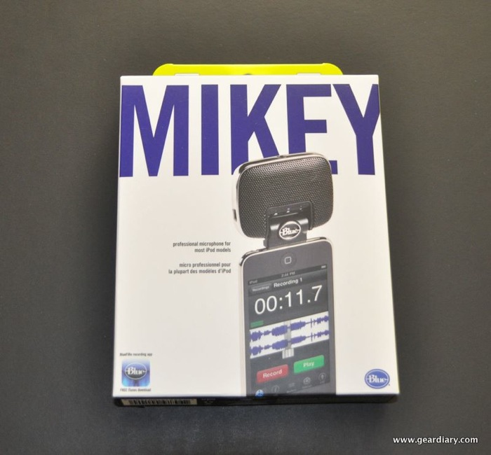 GearDiary Gear Review:  Mikey For iPod, Records Anything, Anywhere, Anytime