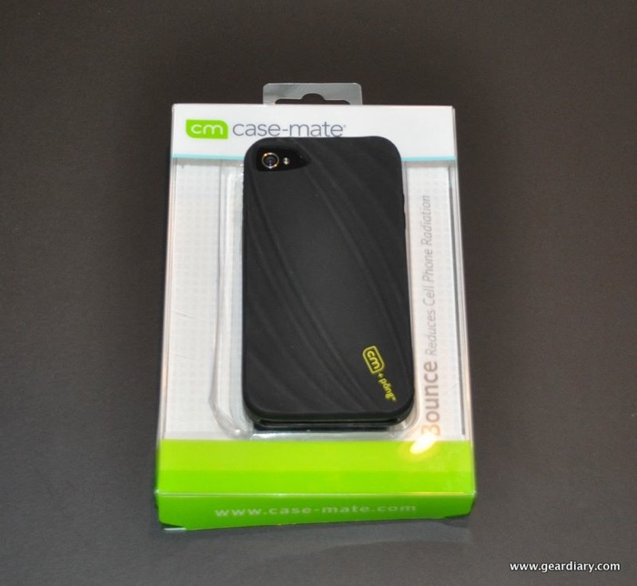 GearDiary iPhone 4 Case Review:  Case-Mate Bounce with Pong Radiation Reducing Technology