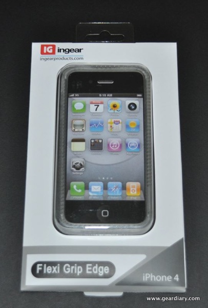 GearDiary iPhone 4 Case Review:  ingear Flexi Grip Edge