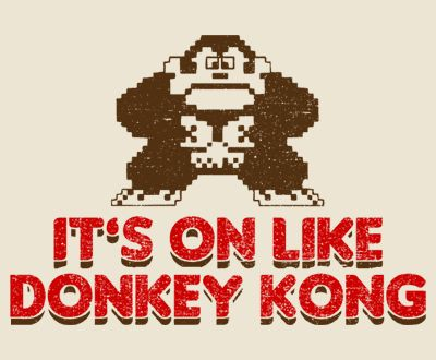 """Gear Games News: Nintendo (tries to) Trademark """"It's On Like Donkey Kong"""""""