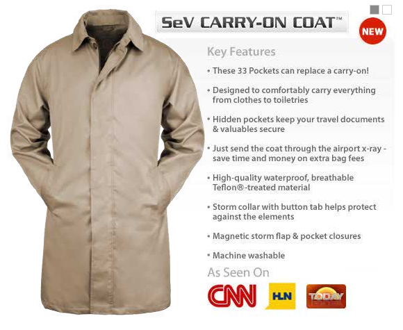 GearDiary SCOTTEVEST Carry-On Coat Review