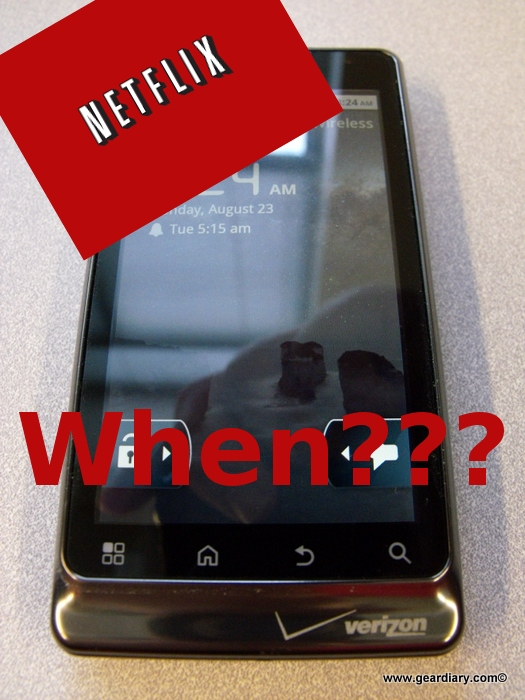 Android and Netflix: a Gear Chat