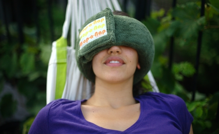 Wrap-A-Nap Lets You Sleep Anywhere, and I Do Mean Anywhere