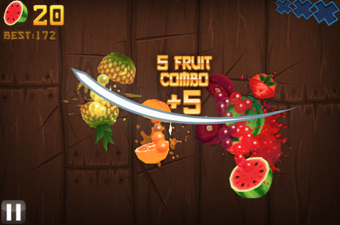Fruit Ninja for iPhone/Touch Review