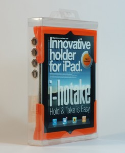"The ""i-hotake"" Makes Holding & Taking Your iPad Easy"