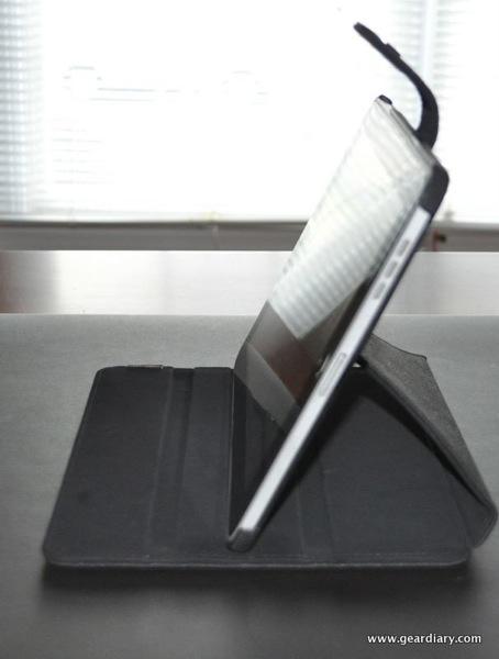 GearDiary iPad Case Review:  JAVOedge Editor Axis