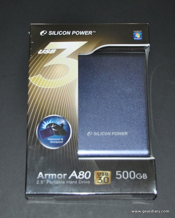 GearDiary Review:  Silicon Power Armor A80 Waterproof & Shockproof Hard Drive