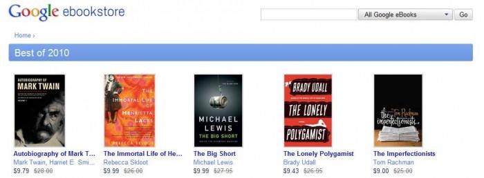 Is Google eBooks a Bestseller or a Bargain Bin Book?