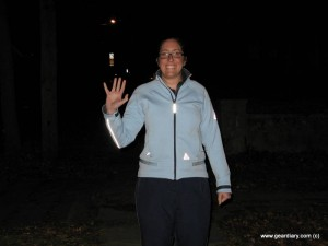 GearDiary Bright Night StrideLight Lighted Jacket Review