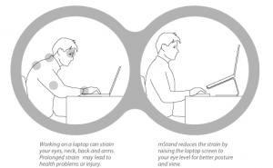 MacBook Accessory Review- Rain Design mStand for MacBook