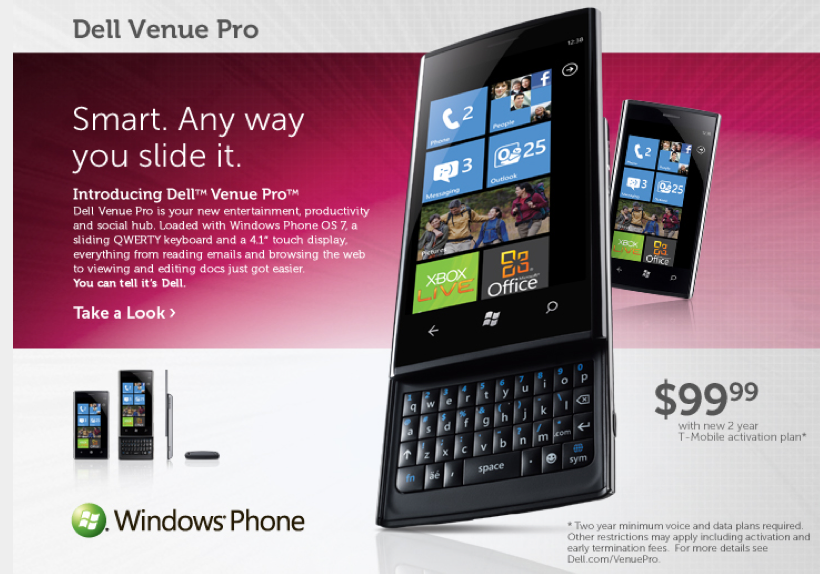 Windows Phone Dell