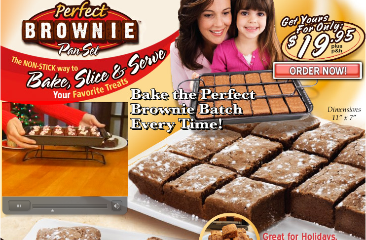 GearDiary Gear Diary Deal or Dud #8:  The Perfect Brownie Pan