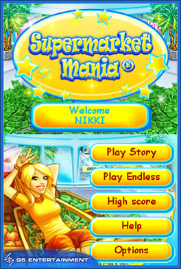 GearDiary DSiWare Game Review: Supermarket Mania
