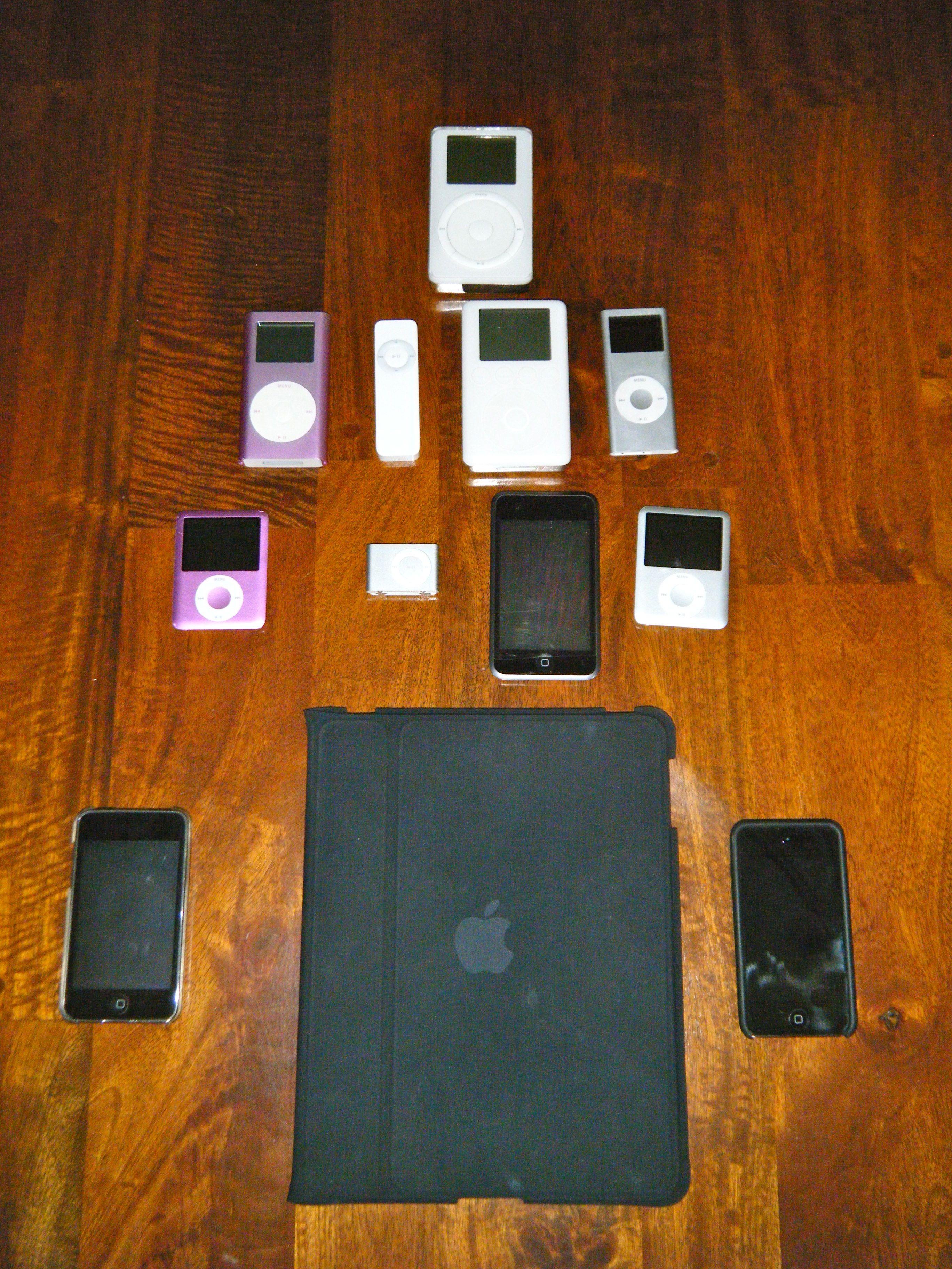 iPod Family Tree1