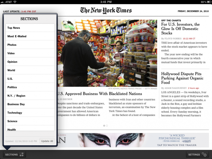 How the iPad and Twitter Have Changed My News Consumption