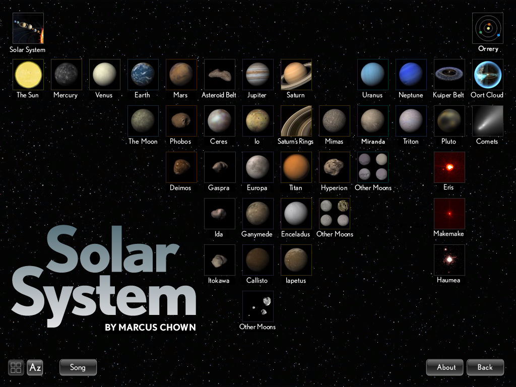 GearDiary Review: Solar System for iPad