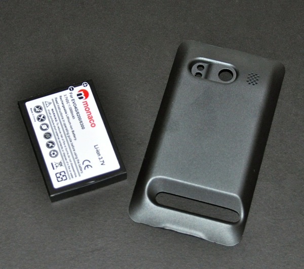 GearDiary Review:  HTC EVO 4G Battery - Monaco Extended High Capacity 3500mAh