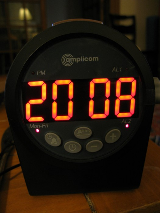 GearDiary Amplicom Alarm Clock Review
