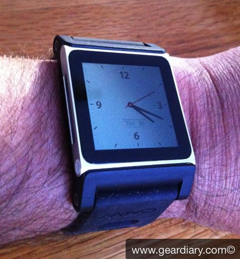"GearDiary TikTok Creates an Evolved ""iPod nano as Watch"""