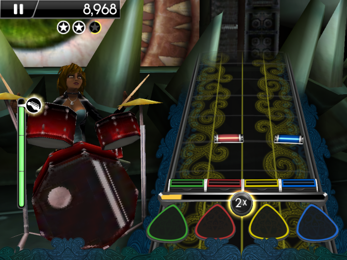 iPhone/iPad Review: Rock Band Reloaded