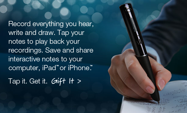GearDiary CES 2011- Livescribe Smartpens Strike the Right Note