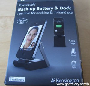 Review: Kensington PowerLift Back-Up Battery, Dock and Stand