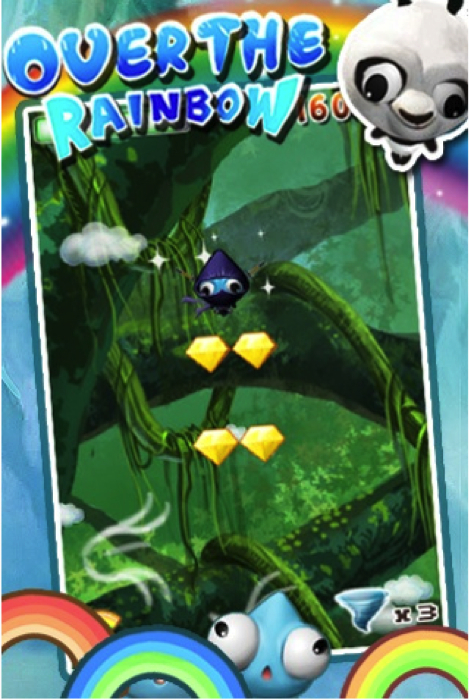 Over the Rainbow for iPhone/Touch Review