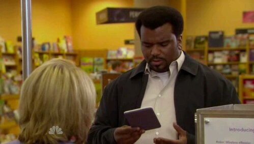 GearDiary GD Quickie: Kobo eReader Gets Featured on the Office!