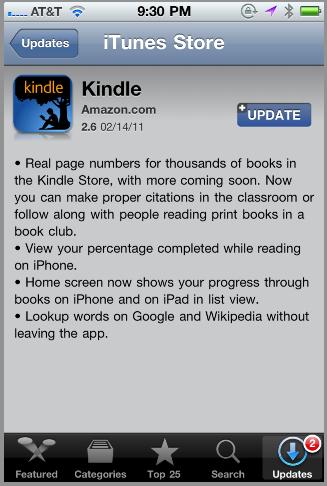 Kindle iPhone Apps iPad Apps eReaders