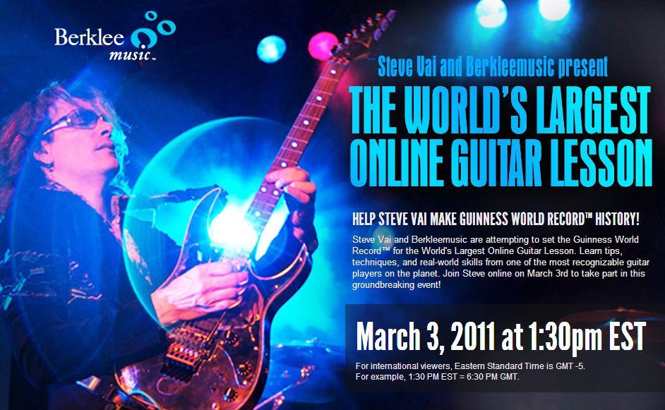 Steve Vai Guitar Lesson