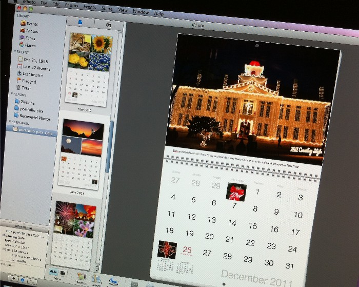 GearDiary UPDATED: iPhoto More Than Just an Image Browser – It Moonlights As One of Santa's Elves!