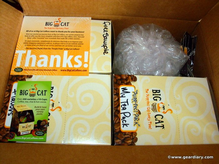 GearDiary Big Cat Coffee's Purr-fect Pack Review
