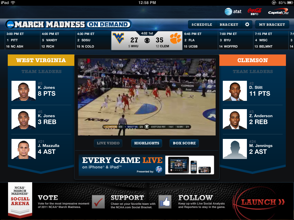 NCAA March Madness On Demand
