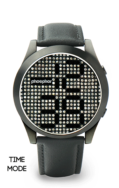 GearDiary The Phosphor Appear Watch Combines Retro Bling with Cool Tech