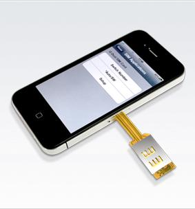iphone without sim card iphone gear review q sim dual sim adaptor for iphone4 2447