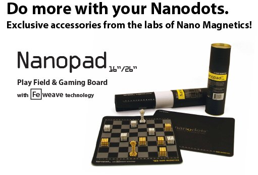 Nanodots Adds Even More Fun to the Cool Magnetic Dots of Fun