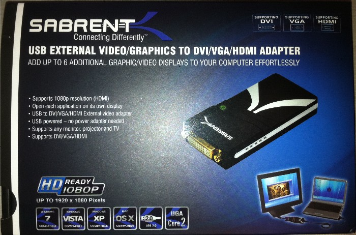 GearDiary The Sabrent Display Adapter Saves the Day Review