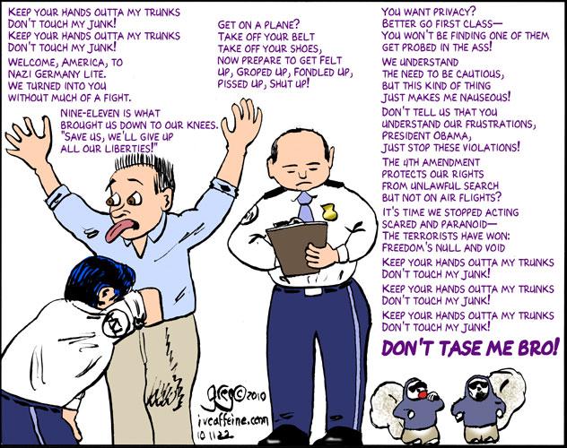 GD QuickRant: TSA Redefines Terrorism ...