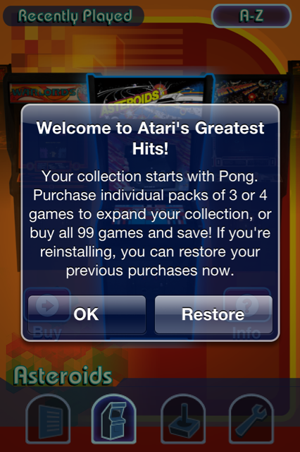 Gear Games Review: Atari's Greatest Hits ... and You Thought It Was Just an April Fools Joke!