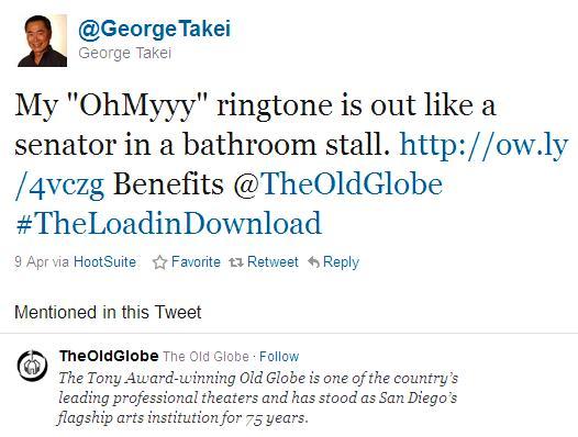 George Takei Ringtone