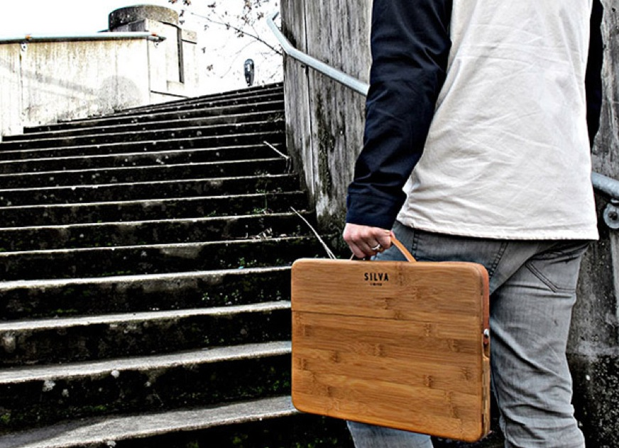 GearDiary Cool MacBook Accessories: Silva Bamboo MacBook Case
