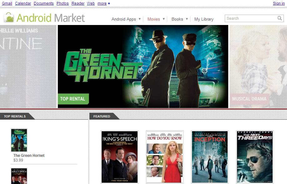 Movies and Streaming Video Android