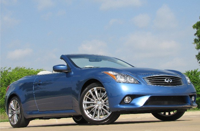 GearDiary Infiniti's Endless Summer: 2011 G37 Convertible
