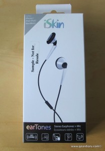 Audio Accessory Review: iSkin earTones Earbuds