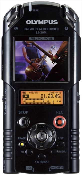 Olympus' New LS-20M Linear PCM Recorder Aims to Unite High-Definition Video and PCM Audio