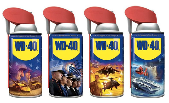 WD-40 Limited Military Collectible Series