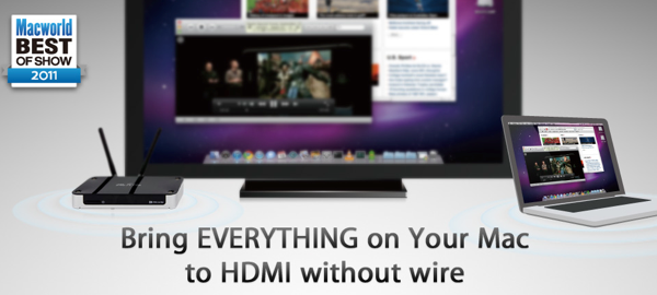 GearDiary McTiVio Streams Your Computer to Your TV Wirelessly