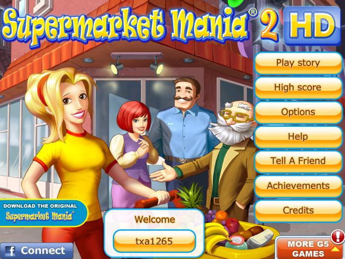 GearDiary iPhone / iPad Game Review: Supermarket Mania 2