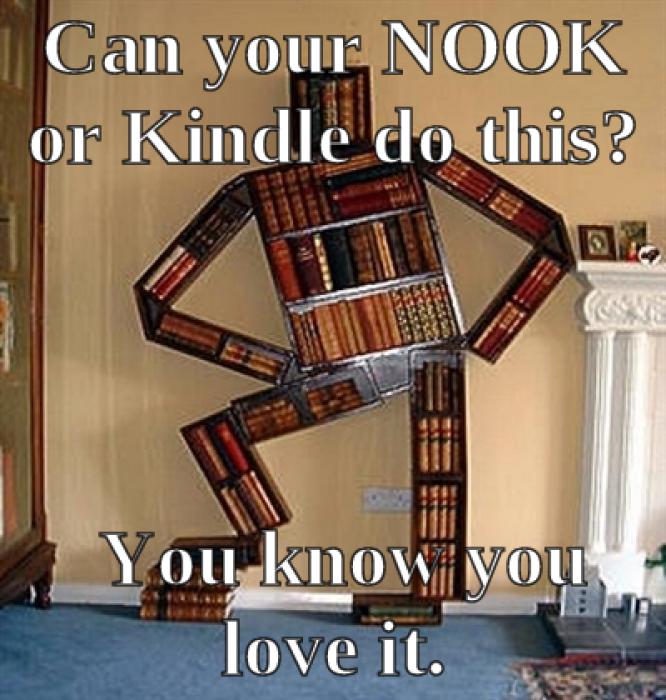 seductive bookcase