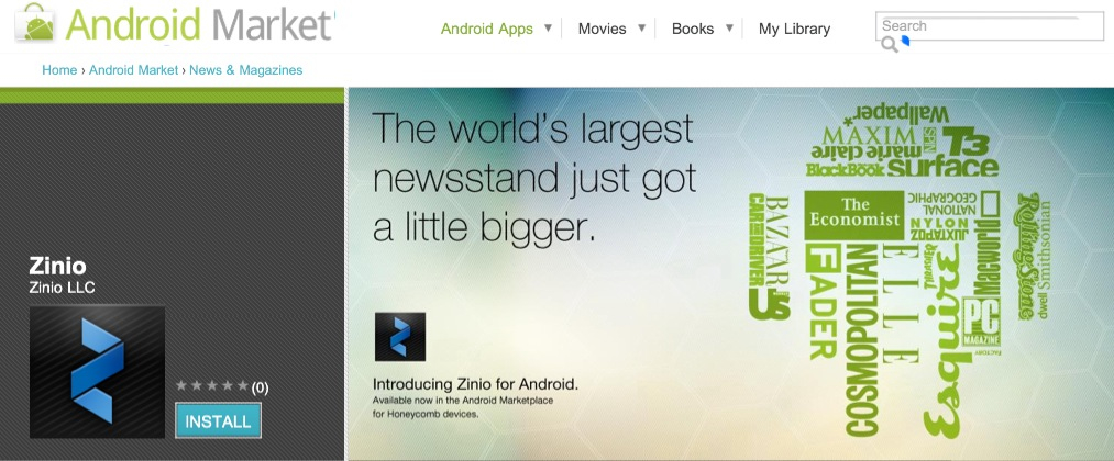 eReaders eBooks Android Apps